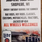 Shopiere Tap Cruise Night, June 11th.